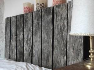 tuto t te de lit en palettes diy pale. Black Bedroom Furniture Sets. Home Design Ideas