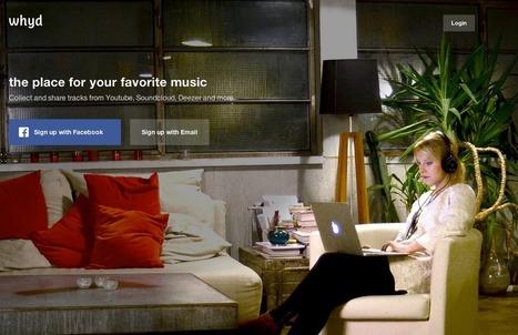 Lancement de Whyd : «On veut créer le Pocket de la musique» | Culture & Entertainment - Digital Marketing | Scoop.it