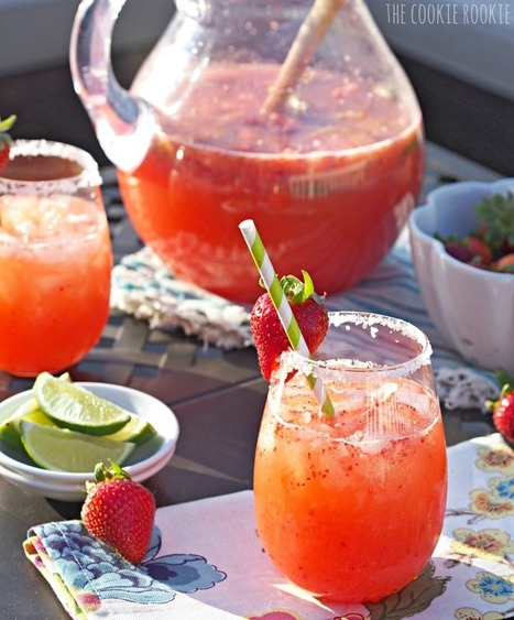 Strawberry Margarita Punch | Last Call | Scoop.it