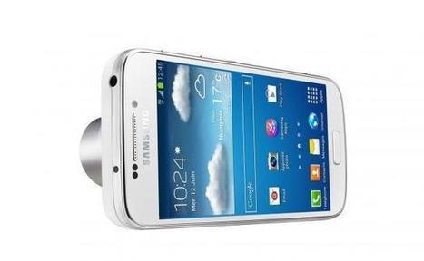 Galaxy S4 Zoom: Samsung consomme l'union entre photo ... - 20minutes.fr   Photo et matériel   Scoop.it