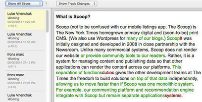 Scoop: A Glimpse Into the NYTimes CMS | Emi Journalisme | Scoop.it