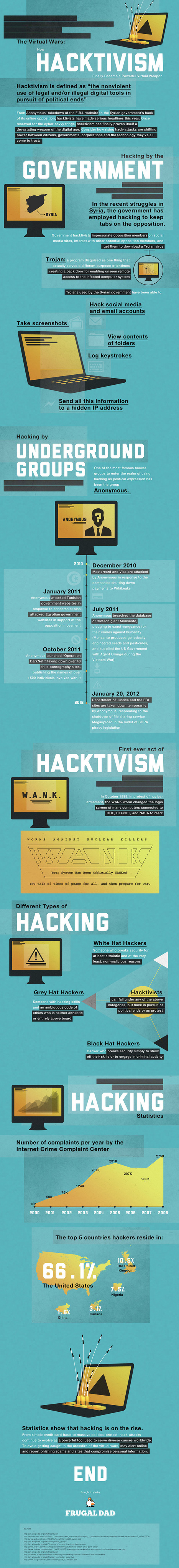 A History of Hacktivism [INFOGRAPHIC] | Is your Network Secure? | Scoop.it