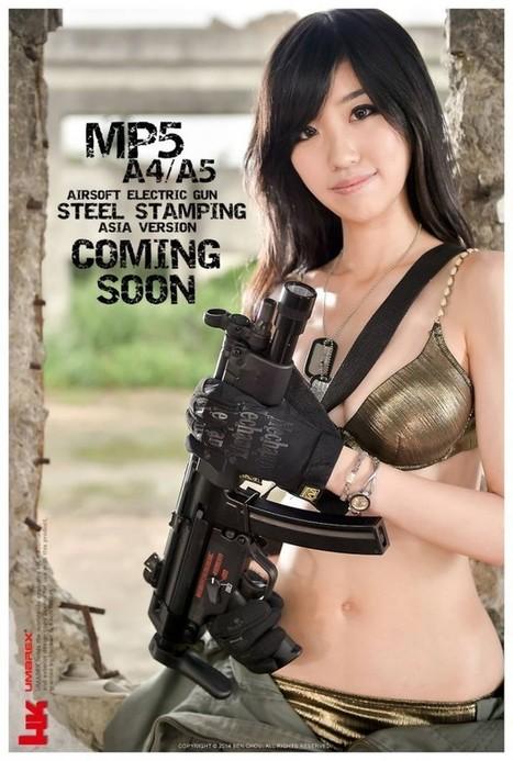 VFC / Umarex MP5 A4 & A5 AEG   Airsoft Showoffs   Scoop.it