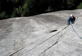 Rock climbing vertical granite in Squamish | World Travel | Scoop.it