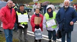 Hèches. Mobilisés pour la défense des hôpitaux - La Dépêche | Vallée d'Aure - Pyrénées | Scoop.it
