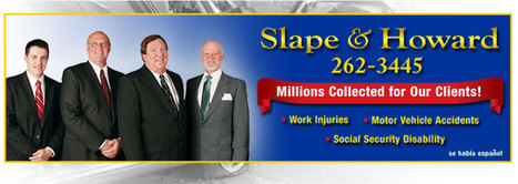 Car, Auto Accident, Work Injury, Workers Compensation, Social Security Disability Attorneys Wichita | Personal Injury Lawyers - The Law Offices of Slape & Howard | Traffic Safety  Infographics | Scoop.it