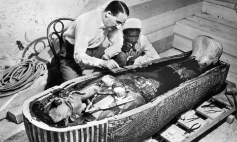 Howard Carter and Tutankhamun - a picture from the past | Ancient History | Scoop.it