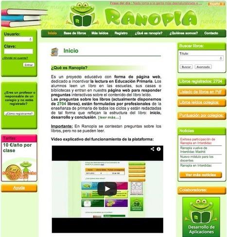 Educación tecnológica: Ranopla: autoaprendizaje a través de la lectura   Educación con TIC's   Scoop.it