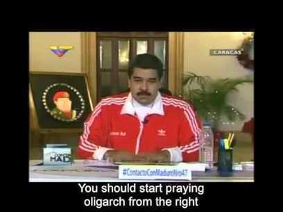 Nicolas Maduro threatens Venezuelans before elections - December 2015 | Aprendiendo Ingles con Español | Scoop.it