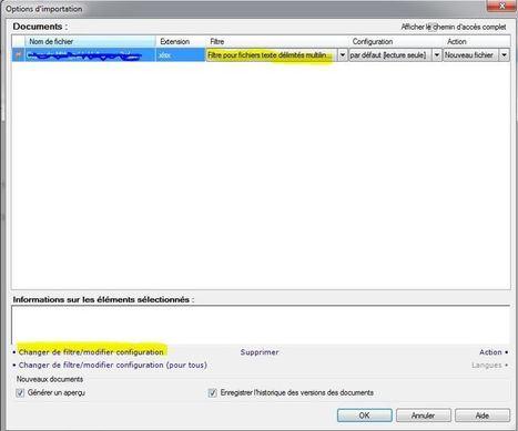 TUTO Importer un fichier Excel dans MemoQ (1) - le filtre bilingue | Localisation & traduction (jeux vidéo) | Scoop.it