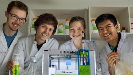 German students 3D print human tissue on hacked Ultimaker using new bio-ink | DigitAG& journal | Scoop.it