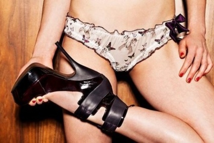 Skimpy Bikini Panties & Big High Heels | Lingerie Love | Scoop.it