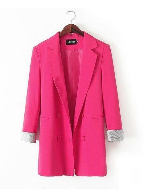Formal Fitted Lapel Plain Blazer : KissChic.com | Kisschic Fashion Dresses | Scoop.it