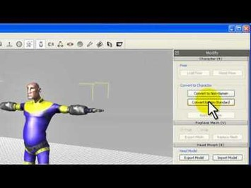 3DXchange5 Tutorial – Importing Maya Characters to iClone « Safegaard – Movie Theater | Machinimania | Scoop.it