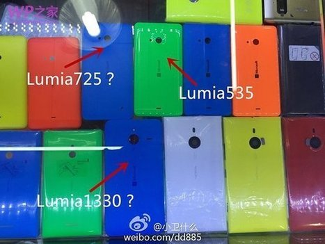 Picture of new Lumia 1330 also leaked? #MoreLumia | Windows 8.  + Windows Phone | Scoop.it
