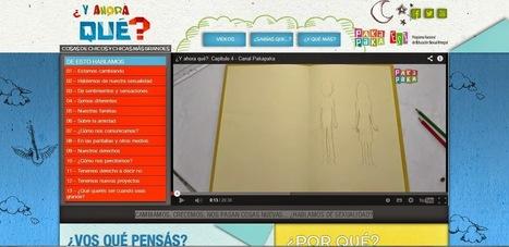 ¿Y ahora qué? Educación Sexual. Pakapaka. Argentina, Ministerio de Educación, 2014 | RECURSOS PARA EDUCACIÓN Y BIBLIOTECAS | Scoop.it