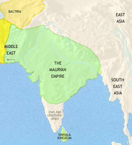 TimeMaps - The Mauryan Empire | Year 7 History - Ancient India: The Mauryan Empire | Scoop.it