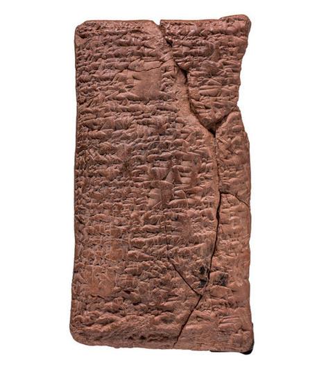 Was de ark van Noach rond? Nieuw ontdekt kleitablet stelt van wel! - Scientias.nl | KAP-ElhaddiouiA | Scoop.it