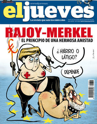 Facebook censura una portada de El Jueves sobre Rajoy y Merkel | Recortes en General | Scoop.it