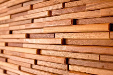 Wood Tiles by Everitt & Schilling   #Design   Scoop.it