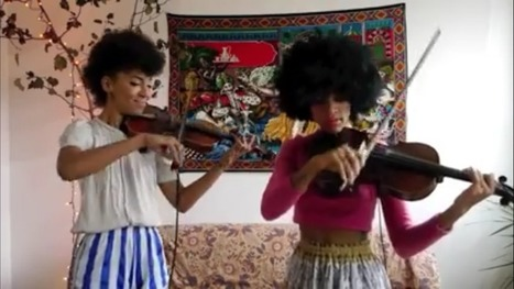 "Watch Chargaux's Violin Cover of ""Shake it Off"" – SpeakStick 