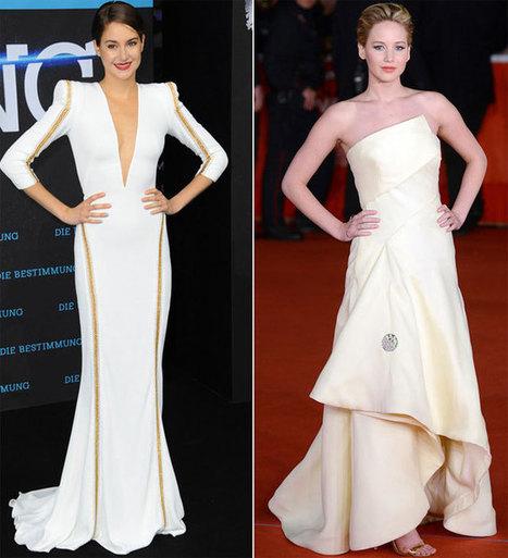 Jennifer Lawrence vs Shailene Woodley - elEconomista.es   Social:3   Scoop.it