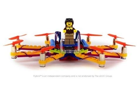 Flybrix présente un drone en Lego à contrôler au smartphone | FabLab - DIY - 3D printing- Maker | Scoop.it