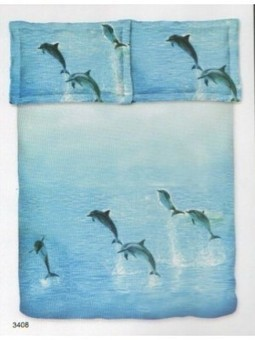 Bombay Dyeing Jungle Safari Dolphin Double Bed Sheet-JS-Dolphin-shop and Buy Online at Best prices in India. | Online Diwali-gifts | Scoop.it