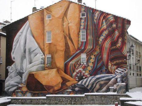 Street Art in Vitoria-Gasteiz, Spain. By Collectiv IMVG 2 - Art - Your Zenith | Artoy | Scoop.it