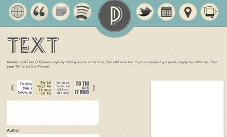 5 outils en ligne pour gérer votre Pinterest | Les outils de la veille | Webmarketing tools | Scoop.it