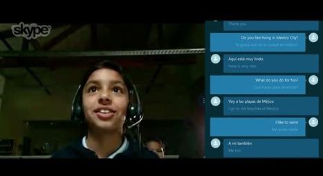 Skype Translator Preview Going LiveToday | International Schools | Scoop.it