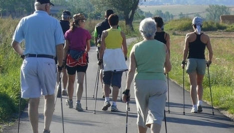 El Nordic Walking contra el cáncer de mama. Desnivel | The evolution of walking | Scoop.it