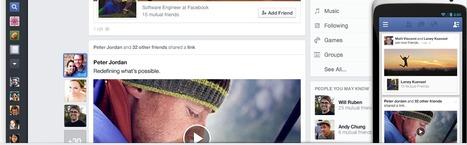 [News] : Facebook souhaite personnaliser le fil d'actualités ! | LeMansByWeb | Scoop.it