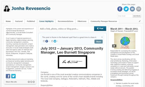 On How to Stand Out with Social CV   Social Recruiting 3.0   Social Media Recommendations   Scoop.it