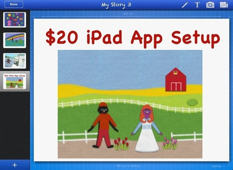$20 iPad App Setup For K-2nd Class Plus Many FREE App Suggestions   Educational Apps and Beyond   Scoop.it