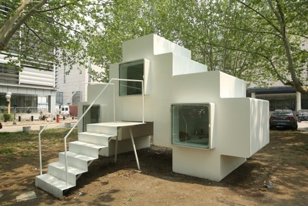 [Beijing, China] Micro-house / Studio Liu Lubin | The Architecture of the City | Scoop.it