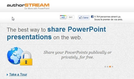 PowerPoint Presentations Online - Upload and Share on authorSTREAM | 21st Century Tools for Teaching-People and Learners | Scoop.it