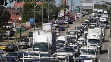 Traffic jam on toast ... it's the Christmas clog in Sydney - The Daily Telegraph   Location Is Everywhere   Scoop.it