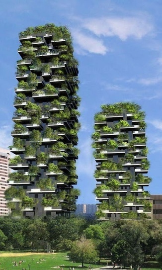 World's First Vertical Forest Gets Introduced in Italy | Sustainable imagination | Scoop.it