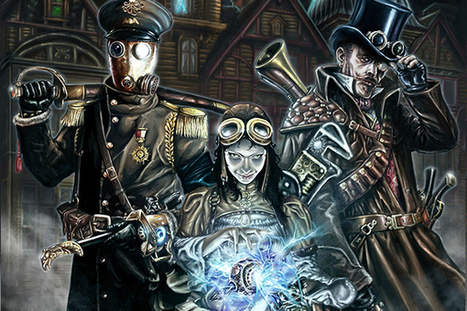 SteamShadows : LE jeu de rôles steampunk - Games and Geeks | Imaginaire et jeux de rôle : news | Scoop.it