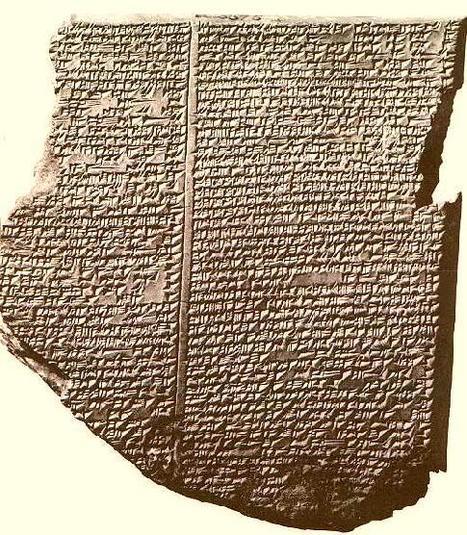 Orígen de la literatura clásica, poema de Gilgamesh. | culturaclasica0 | Scoop.it