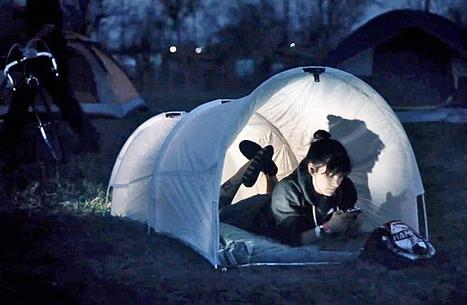 Glad Trashbag Makes Tent for Concerts   Waste Management   Scoop.it