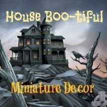 Haunted Dollhouse Kits | Halloween Crafts, Decorations, Costumes And Treats | Scoop.it