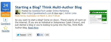 Increase your Blog Traffic from These 3 Communities | Blogging with Success | Scoop.it