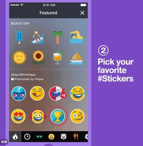"""Twitter Introduces """"Promoted Stickers"""" for Brands, with Pepsi as First Partner 