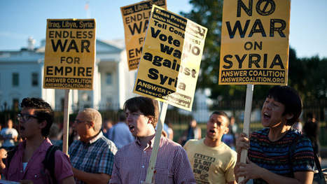 Americans widely oppose Syria strike despite drumbeat in ... | Syria Crisis | Scoop.it