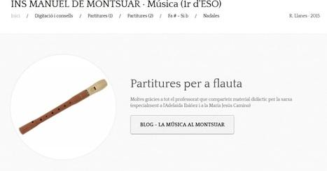 La música al Montsuar: Memòria del curs 2015-2016 | TAC i educació | Scoop.it