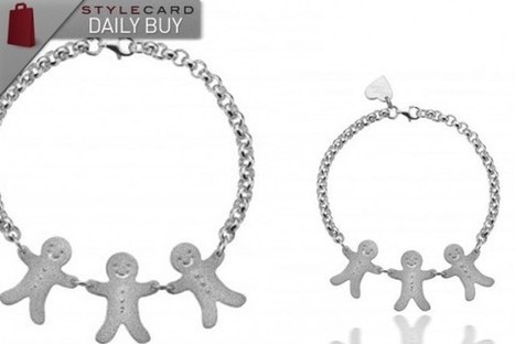 Daily Buy: 'Catch Me If You Can' Silver GingerBread Man Bracelet   StyleCard Fashion Portal   StyleCard Fashion   Scoop.it