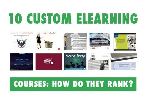 10 Custom eLearning Courses: How Do They Rank? - eLearning Brothers | Always eLearning | Scoop.it