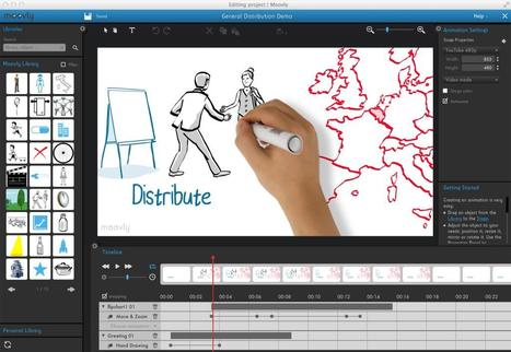 Moovly. Créer des vidéos et des présentations animées | Le collaboratif dans tous ces états ! | Scoop.it